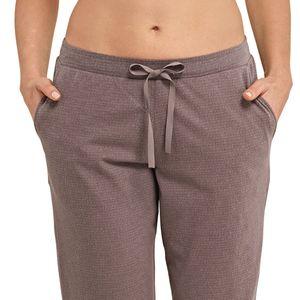SCHIESSER Damen Hose Jerseyhose lang Eingrifftaschen dunkelbraun – Bild 2
