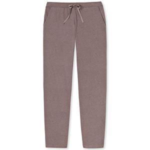 SCHIESSER Damen Hose Jerseyhose lang Eingrifftaschen dunkelbraun – Bild 4