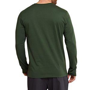 SCHIESSER Herren Shirt langarm Jersey dunkelgrün – Bild 4