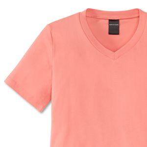 SCHIESSER Mädchen Schlafanzug kurz Single-Jersey apricot bedruckt  California – Bild 2