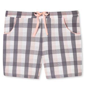 SCHIESSER Damen Hose Jerseyhose kurz Jersey Taschen mehrfarbig kariert – Bild 5