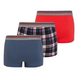 3 er Pack JOCKEY Herren Boxer Shorts Trunk Pant Cotton Stretch Single Jersey U.S.A Originals regatta blue – Bild 5