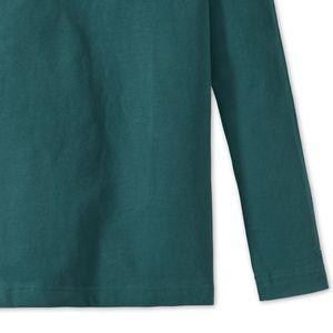 SCHIESSER Jungen Shirt langarm Heavy Jersey peached Brusttasche blaugrün Mix & Relax – Bild 3