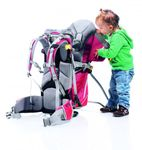 Deuter Kid Comfort 2 cranberry fire Bild 5