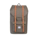 Herschel Little America cambray crosshatch/tan synthetik leather Bild 2