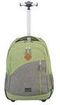 Travelite Basics Trolley-Rucksack grün/grau Bild 2