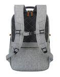 Travelite Basics Safety Rucksack hellgrau Bild 4