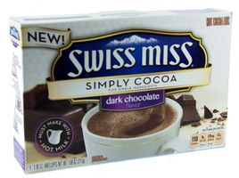 Swiss Miss Simply Cocoa Dark Chocolate Kakaogetränk 217g