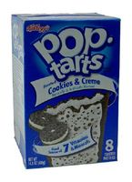 Kelloggs Pop-Tarts Frosted Cookies & Creme 400 g