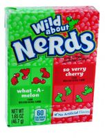 Wonka Nerds What-A-Melon & Verry Cherry Mini Dragees (Wassermelone & Kirsche) 46,7 g