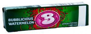 Bubblicious Watermelon Kaugummi (Wassermelone) 40 g