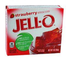 Jell-O Gelatine Dessert Strawberry (Erdbeere) 85 g