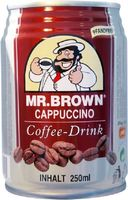 Mr. Brown Coffee Drink Cappuccino 250 ml PFANDFREI