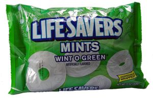 Lifesavers Mints Wint-o-Green 368 g Beutel