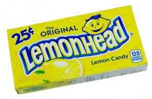 Ferrara Pan Lemonhead Bonbons (Zitrone) 23 g
