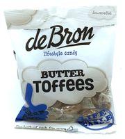 De Bron Butter Toffees Bonbons Zuckerfrei 70 g