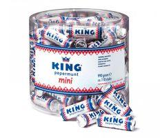 King Pepermunt Minis Original Pfefferminz Pastillen ca. 110 Stück