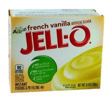 Jell-O French Vanilla Puddingpulver und Kuchenfüllung 96 g