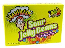 Warheads Sour Jelly Beans Kaubonbons 113 g