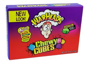 Warheads Sour Chewy Cubes weiche Kaubonbons 113 g