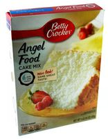 Betty Crocker Angel Food Cake Mix Backmischung 453 g