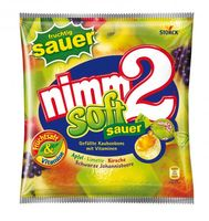 Nimm 2 Soft Sauer Kaubonbons 195 g