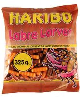 Haribo Labre Larver Lakritz Dragees 325g