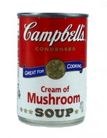 Campbells Cream of Mushroom Soup 298g