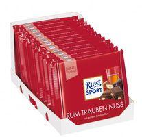 Ritter Sport Rum Trauben Nuss Schokolade 12 Tafeln