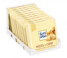 Ritter Sport Weiss & Crisp Schokolade 10 Tafeln