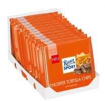 Ritter Sport Knusper Tortilla Chips Schokolade 12 Tafeln