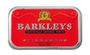Barkleys Cinnamon Zimt Pastillen 6 Dosen