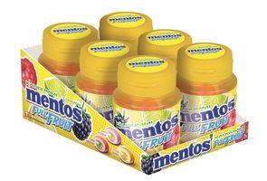 Mentos Full Fruit Gum Kaugummi Zuckerfrei 6 Dosen