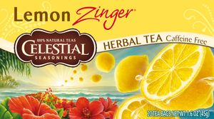 Celestial Seasonings Lemon Zinger Kräutertee 20 Teebeutel