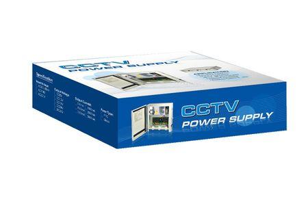 Netzteil wetterfest  4-Kanal 5A Stromversorgung Kamera LED Outdoor PTC Sicherung – Bild 3