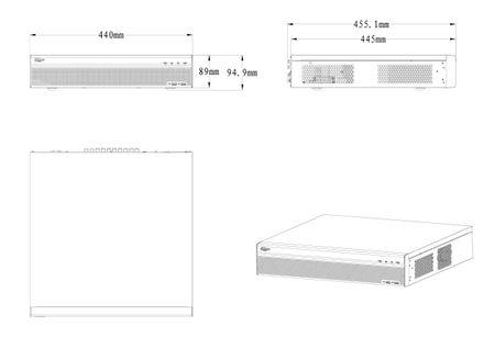 Videorekorder Full-HD 32 Kanal Penta-brid 1080P Lite 2U Digital Dahua – Bild 2