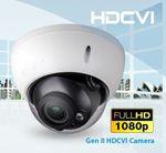 Domekamera 2.4MP HDCVI  30m Nachtsicht wetterfest Motor Zoom