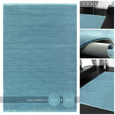Acryl Teppich *Tarz 3121K* Blau