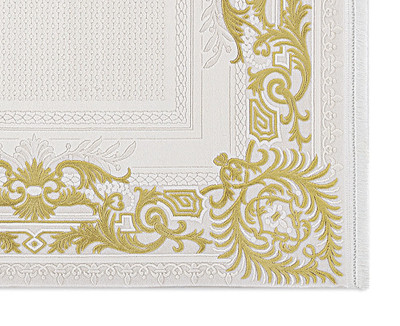 Acryl Teppich *Touch 3980M* Gold – Bild 4