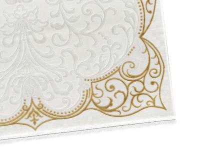Acryl Teppich *Touch 8314M* Gold – Bild 4