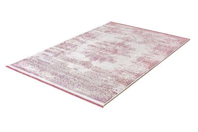 Acryl Teppich *Rustik 3950E* Pink – Bild 2