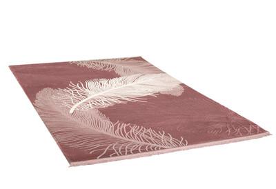 Acryl Teppich *Everest 3302Q* Rot – Bild 2