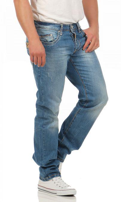 Cipo & Baxx C-0838-A Regular Fit Herren Jeans – Bild 2