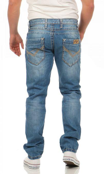 Cipo & Baxx C-0838-A Regular Fit Herren Jeans – Bild 3