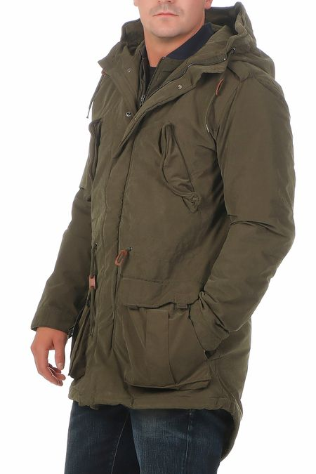 Jack & Jones Poul Fishtail Herren Jacke Parka – Bild 1