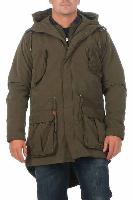 Jack & Jones Poul Fishtail Herren Jacke Parka – Bild 2