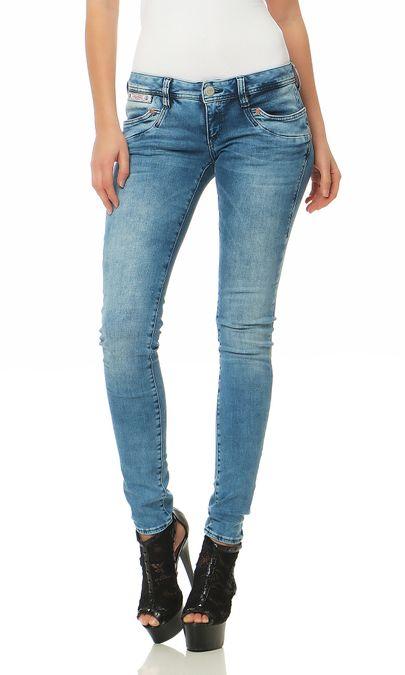Herrlicher Piper Slim Powerstretch D9668 724 Damen Jeans Hose – Bild 1