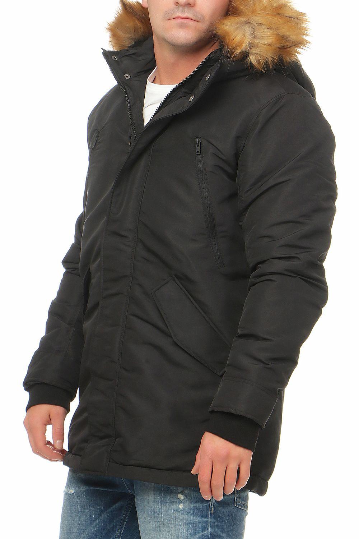 jack jones peak parka jacket herren jacke winterjacke. Black Bedroom Furniture Sets. Home Design Ideas