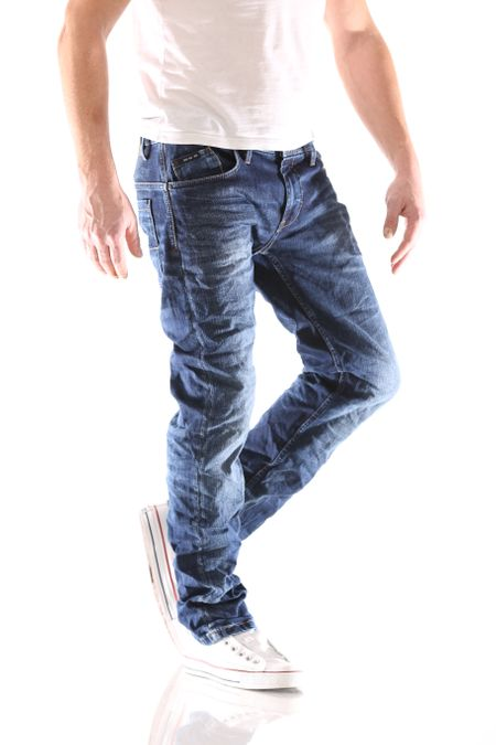 Big Seven Morris Night Blue Regular Herren Jeans – Bild 2