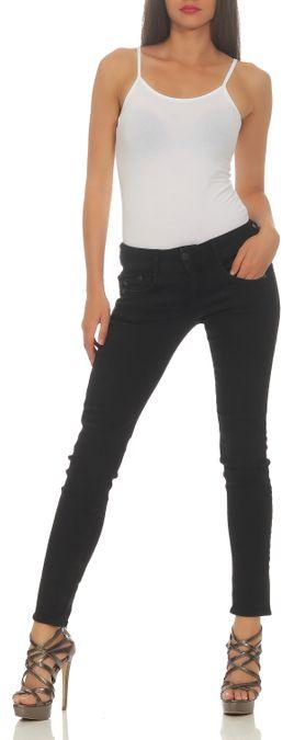 Herrlicher Gila Slim Powerstretch DB840 671 Röhre Damen Jeans Hose – Bild 1